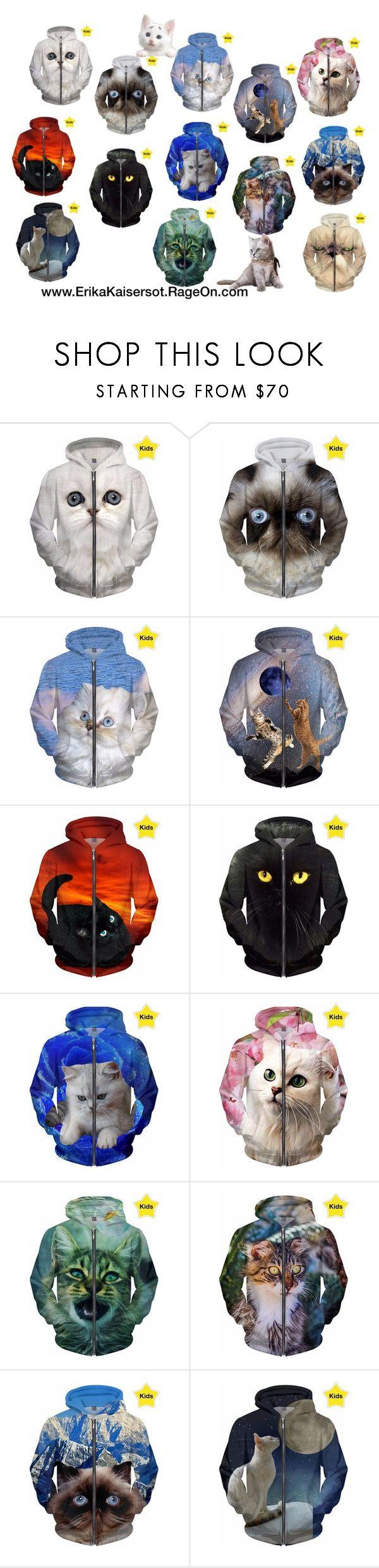 NEW hoodies for kids with cats. #hoodie #cat by #ErikaKaisersot on @RageOn ErikaKaisersot.RageOn.com