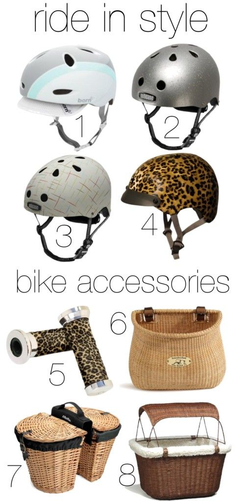 Stylish bike accessories and affordable cruiser bikes -- and Chubby's Cruisers has them!!