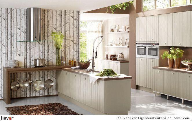 Eigenhuiskeukens Keukens - Eigenhuiskeukens keukenkasten & werkbladen - foto's & verkoopadressen op Liever interieur