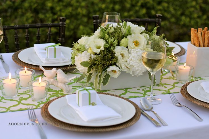 Styling, flowers and hire: Adorn Event Hire