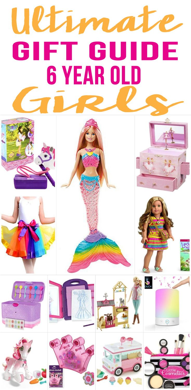 BEST Gifts 6 Year Old Girls WILL LOVE! Amazing gift ideas for girls! Cool gift guide for 6 year old girls - toys & more! Fun products for kids. Perfect for Christmas, birthdays and holidays.