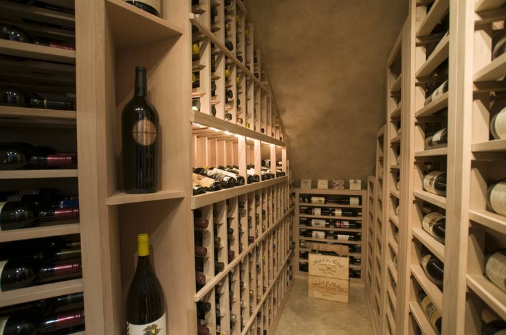 The completed custom wine cellars chicago under stairs Home wine cellar design