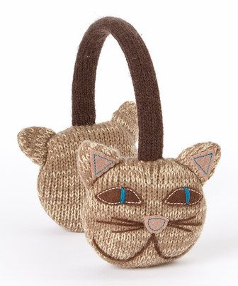Look what I found on #zulily! Capelli New York Natural Cool Cat Earmuffs by Capelli New York #zulilyfinds