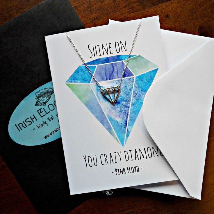 Diamond Keepsake Necklace Card