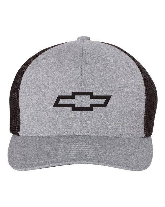 CHEVY Chevrolet  Trucker Cap FLEXFIT HAT *FREE SHIPPING in BOX*