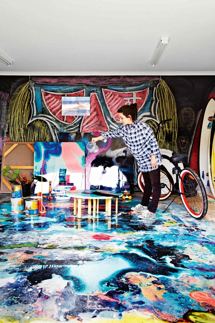 Graffiti art diy - From The September 2015 Issue Of Inside Out Magazine Cover Story On The Home Of Artist Megan Weston