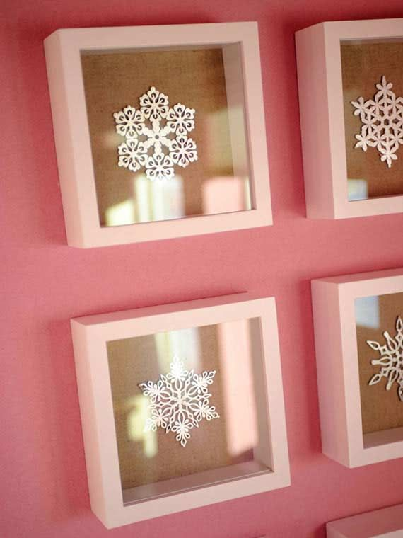 Snowflakes remind me of how nothing is exactly the same. We & everything are just as individually unique as sno0wflakes! ~M. Girls Pink Bedroom Designs Ideas By Linda Woodrum  (3)