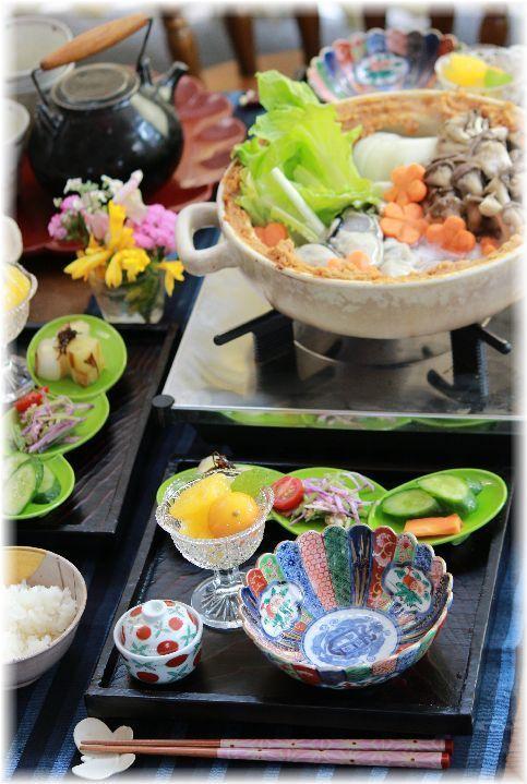 牡蠣の土手鍋。 と 献立 と 今週のお買いもの。|よめ膳@YOMEカフェ