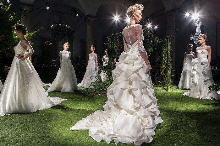 Свадебные платья в Милане