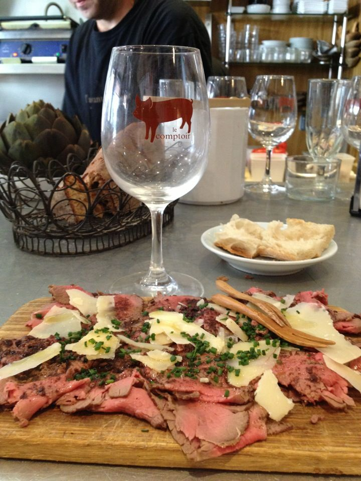 L'Avant Comptoir in Paris, Île-de-France. Awesome small wine bar with great small plates.