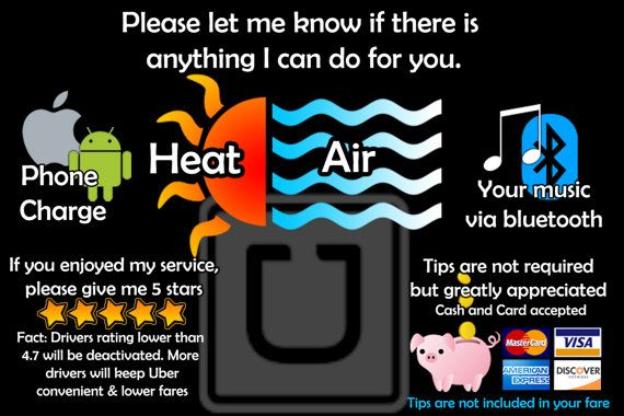 Custom-Made Uber/Lyft/Rideshare sign. Customizable yay! Digital file = unlimited prints