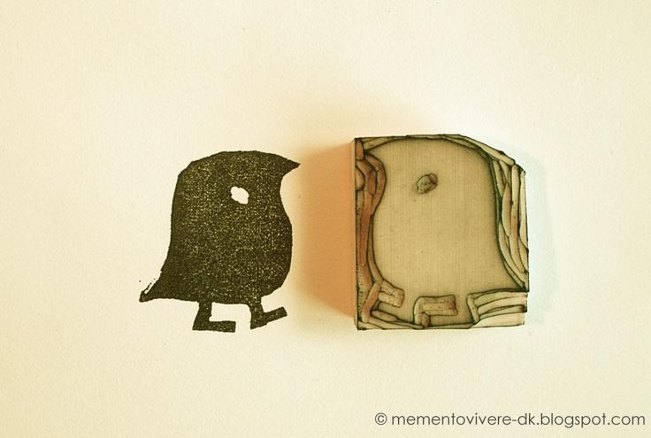 Memento Vivere: DIY: Eraser Stamps (hjemmelavet stempel)