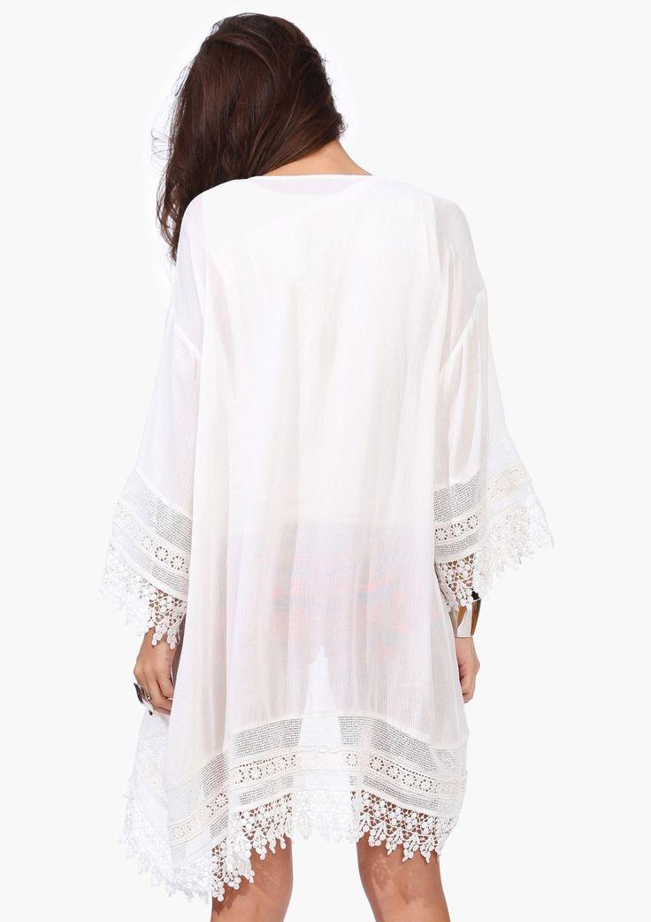 Laced Kimono | Necessary Clothing