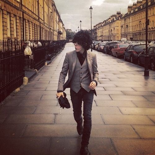 LP in Bath (sadly, not LP in THE bath)  :)