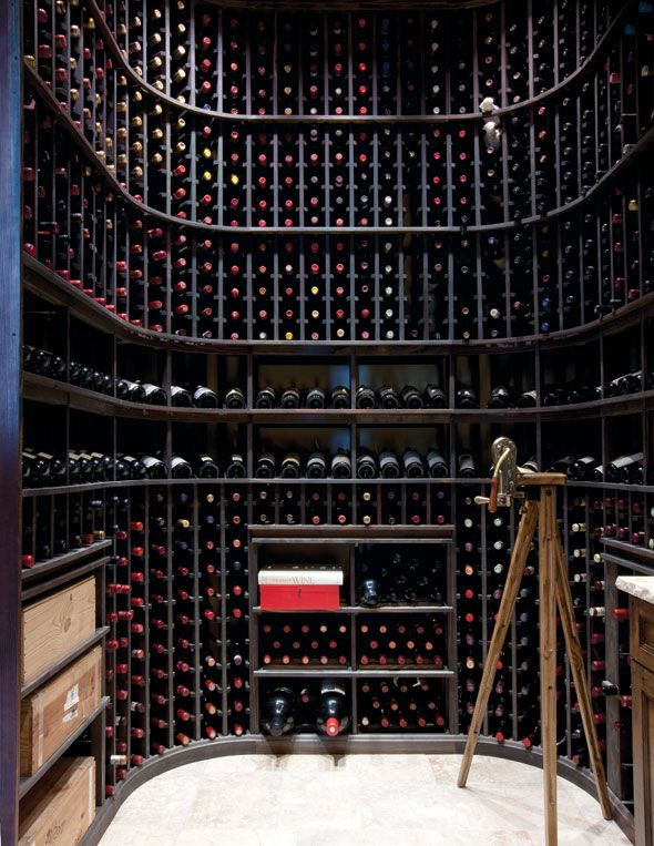 so what come first, a space like this, or the hundreds of bottles of win?