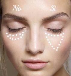 Alarga la zona de corrector para que se unifique mejor a tu rostro.   14 Trucos de belleza que cambiarán tu rutina de maquillaje para siempre
