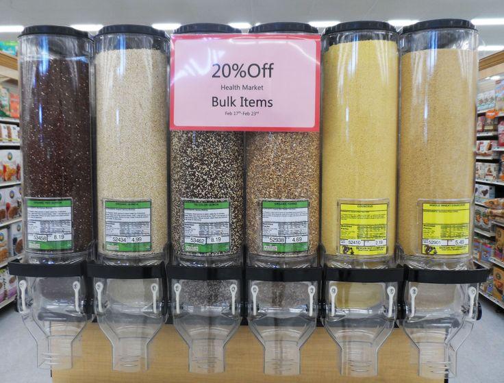 Visit the amazing new bulk item area! #hyvee4 #healthy #new