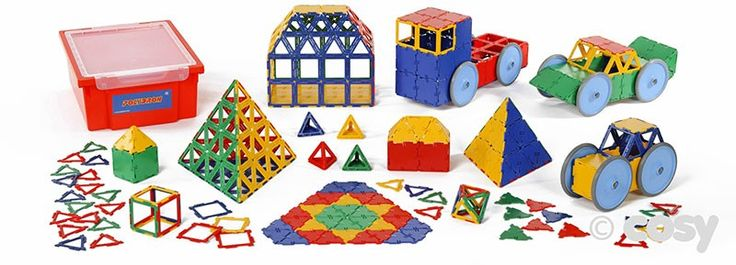 SUPER VALUE SHAPE SET (456PK) - Construction and Woodworks - Early Years - Cosy Direct