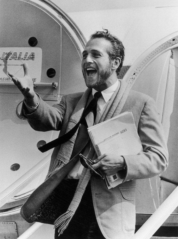 NEWMAN CUANDO ESTÁ EMOCIONADÍSIMO DE VERTE | 17 razones por las que Paul Newman te arruinó para otros hombres