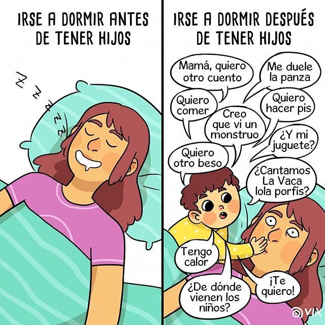 Alegres Despertares Por Lavida Ilustrada Pelaeldiente Vinetas Ilustracion Comics Webcomics Caric Daddy And Son The Joys Of Motherhood Comics