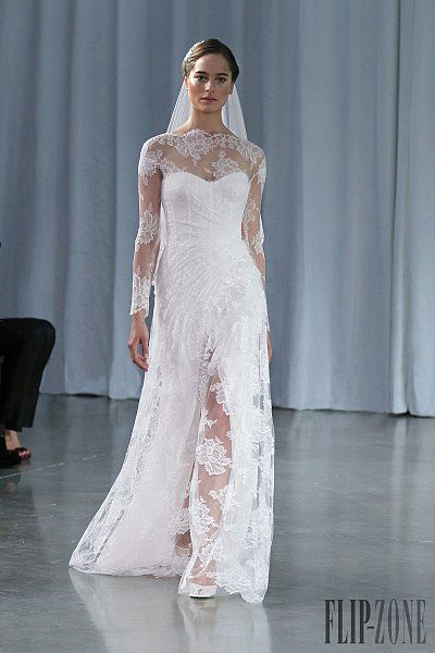 air jordan 6 rings bred elephant Monique Lhuillier Fall winter 2013 2014   Bridal