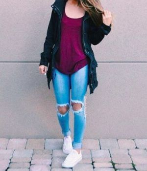 40 Super cute outfits for school