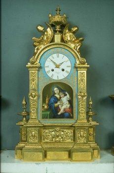 Ambrosini [Paris], Mantel clock mid-nineteenth century