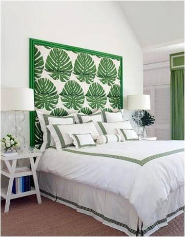 Kelly Green White Bedrooms And Interior Design Blogs On