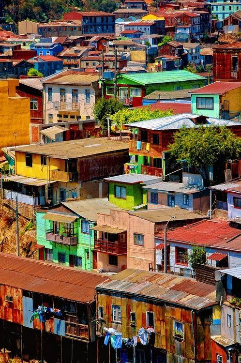 Valparaiso, Chile #ViventuraPinYourWayToSouthAmerica