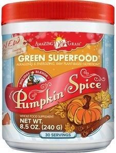 Amazing Grass Green Superfood Pumpkin Spice - 8.5 Oz