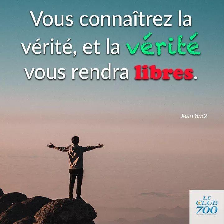 ✝« Vous connaîtrez la vérité, et la vérité vous rendra libres. » Jean 8 :  32. --- Captifs du péché, p… | Verset de la bible, Parole biblique, Affiche  typographique