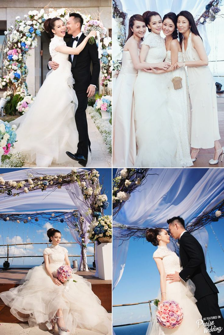 Praise Wedding Community | Celebrity (Vivian Hsu) Wedding in Bali | http://www.praisewedding.com/community