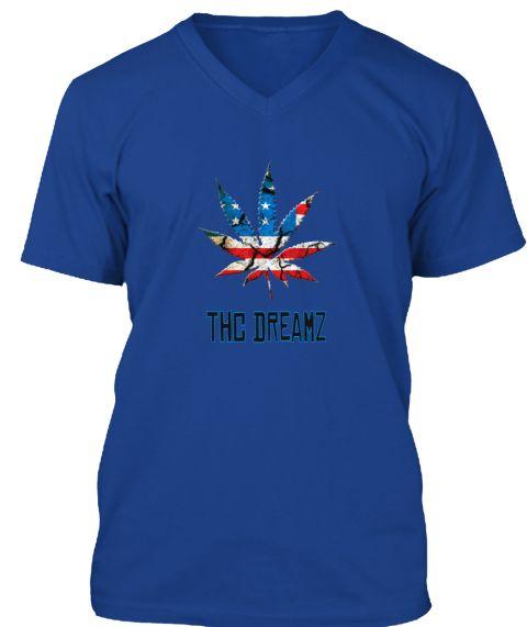 Thc Dreamz True Royal T-Shirt Front