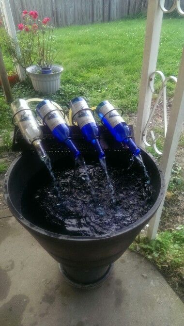 25 best ideas about wine bottle fountain on pinterest