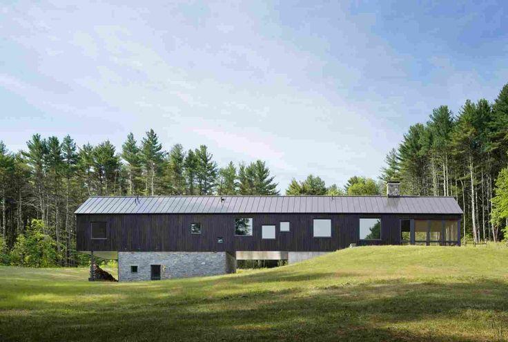Сельский дом в штате Массачусетс, США