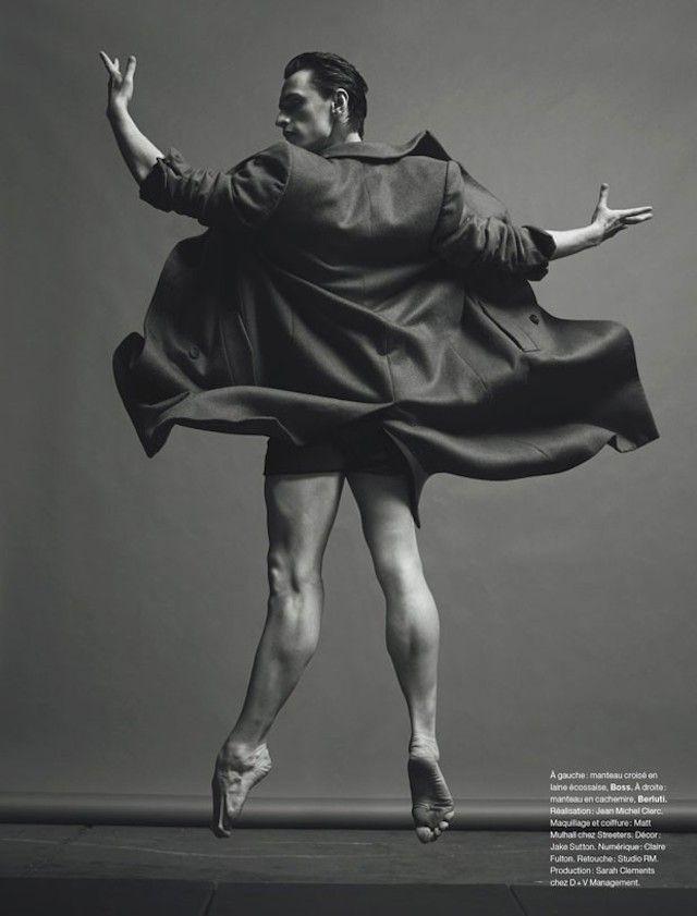 Sergueï Polounine by Jacob Sutton for Numero Magazine