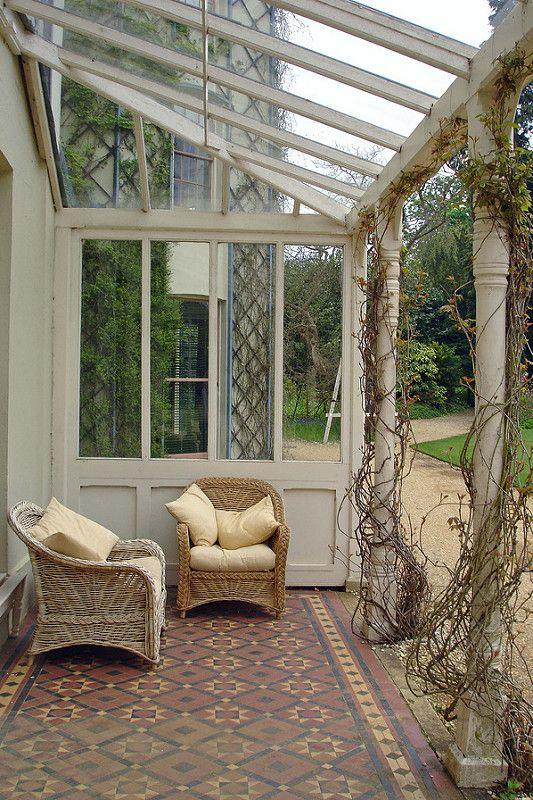 English Heritage - Down House the Veranda. | by GABOLY