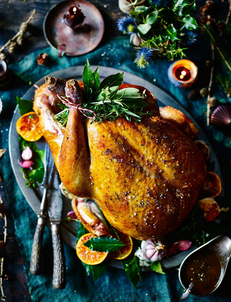 We're sure that this honey-spiced Christmas turkey recipe will soon become a tradition in your house