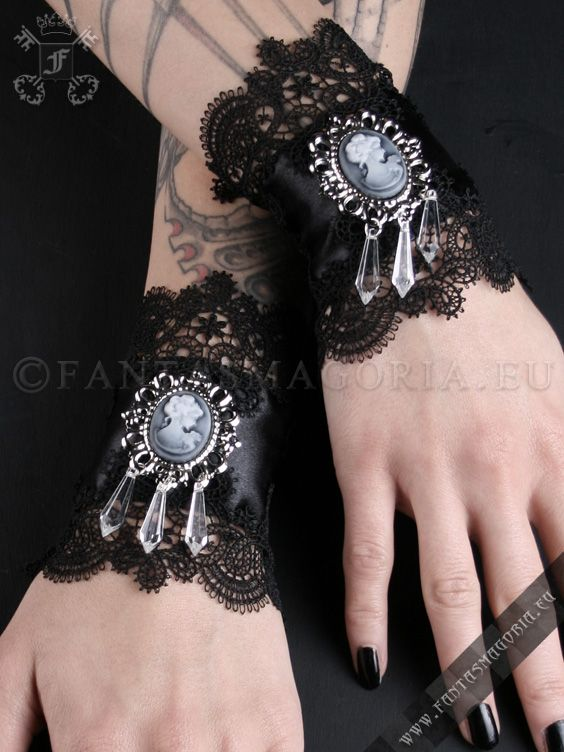Ring In The Steampunk Decor To Pimp Up Your Home: $17.97 Baroness Wristbands (PAIR) Gothic Style