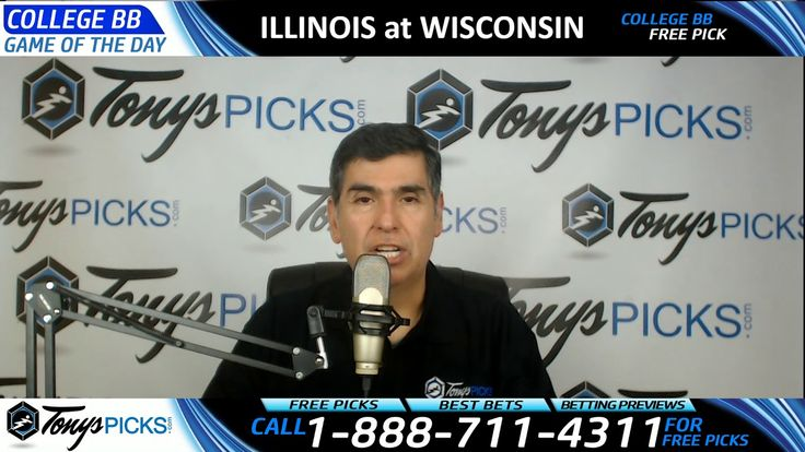 Illinois Fighting Illini vs. Wisconsin Badgers Free NCAA Basketball Pick...