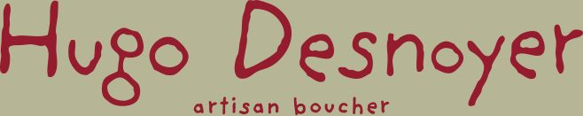 Artisan Boucher Hugo Desnoyer | une table chez le boucher
