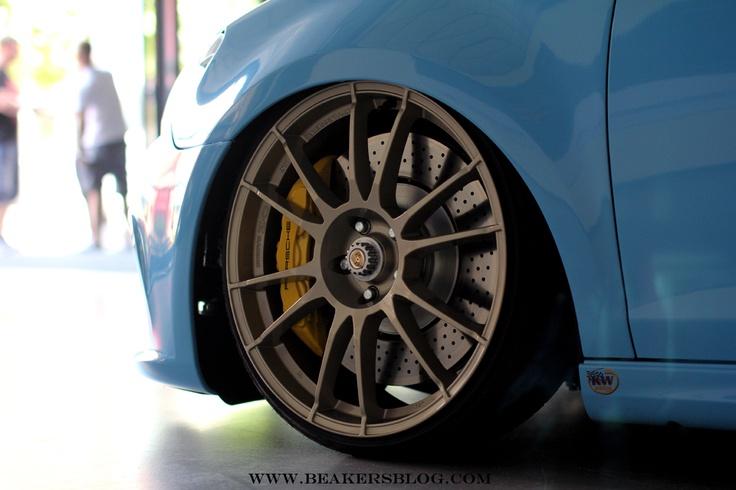 "OZ Racing Ultraleggera HLT 20"" customized on Golf VI GTI RS"