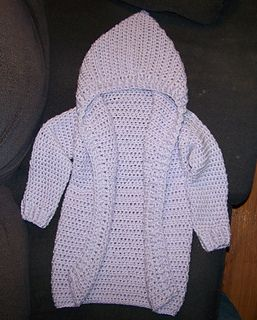 brownfrances' Child Size Hooded Cardigan