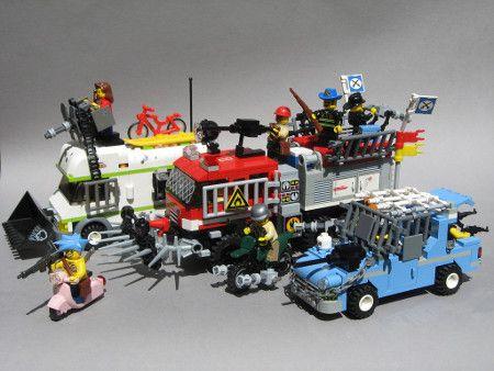 Zombie Apocalypse Lego