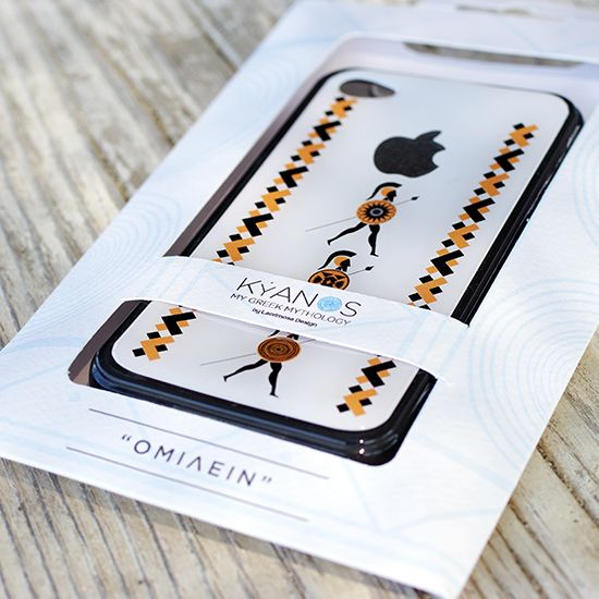 Mobile Cases inspired from ancient Greece from the new collection KYANOS by Lacrimosa Design.  ***BUY IT WITH KYANOS GIFT BOX***  www.kyanos.lacrimosadesign.com