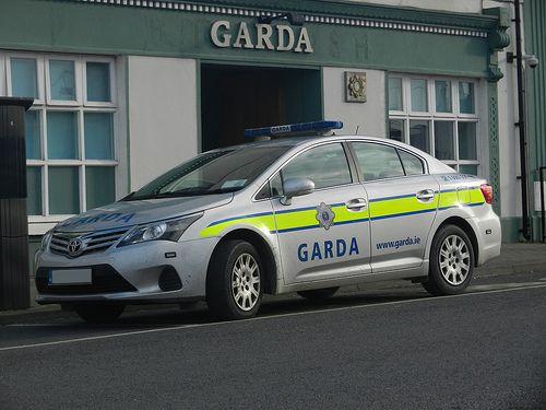"An Garda Siochana; meaning ""the Guardian of the Peace"" Irish Police Force Toyota Avensis Patrol Car ♣ https://en.wikipedia.org/wiki/Garda_S%C3%ADoch%C3%A1na"