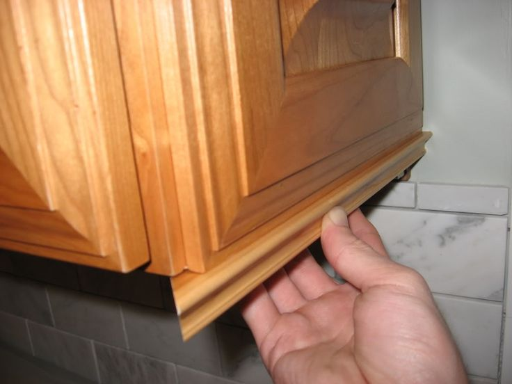 Best 25+ Cabinet trim ideas on Pinterest | Making kitchen ...