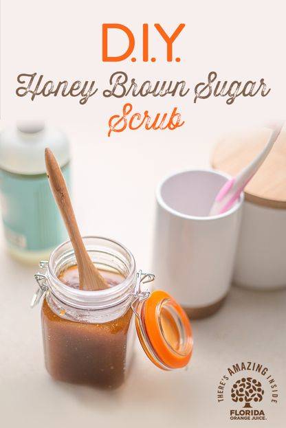 """Treat yourself to a simple spa experience at home using natural ingredients from your kitchen. This easy to create scrub is a great way to pamper yourself and your skin without all the fuss. Simply combine 1 cup brown sugar, 1/4 cup olive oil, 1 teaspoon vanilla extract, 1 teaspoon honey into a Mason jar or bottle and enjoy a little extra """"me time"""" tonight. Watch our how-to video."""