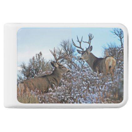 Mule deer photo art power bank - photo gifts cyo photos personalize