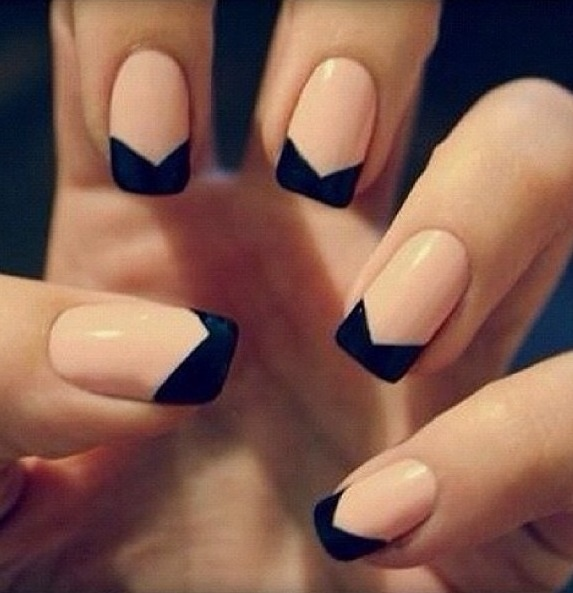 Elegant nails for a night out.